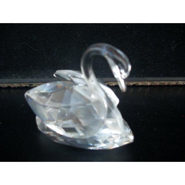 Swarovski Swarovski Crystal Swan For Sale - Image 4 of 4