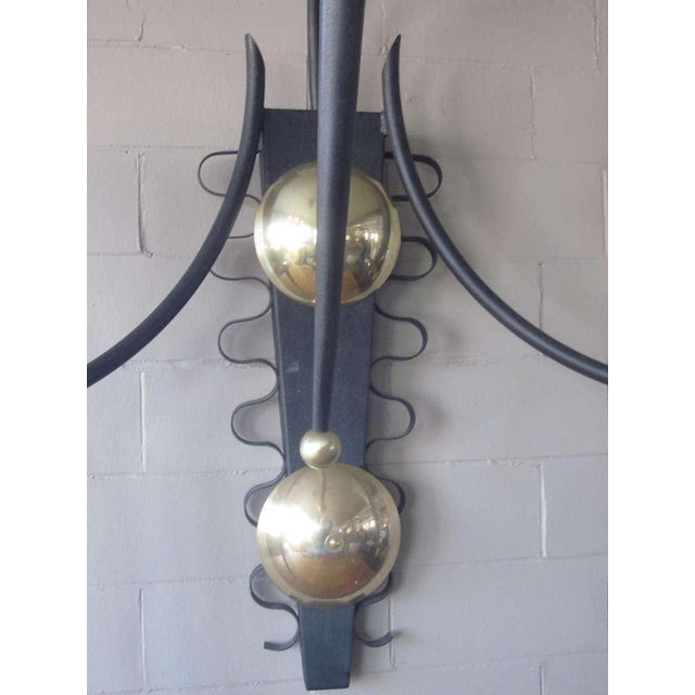P. Marchand Monumental New York Theater Sconce In The Style Of Mategot For Sale - Image 4 of 7