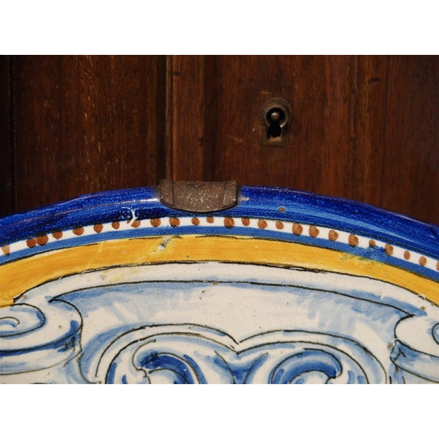 Spanish Antique Renaissance Style Platter from Spain For Sale - Image 3 of 10