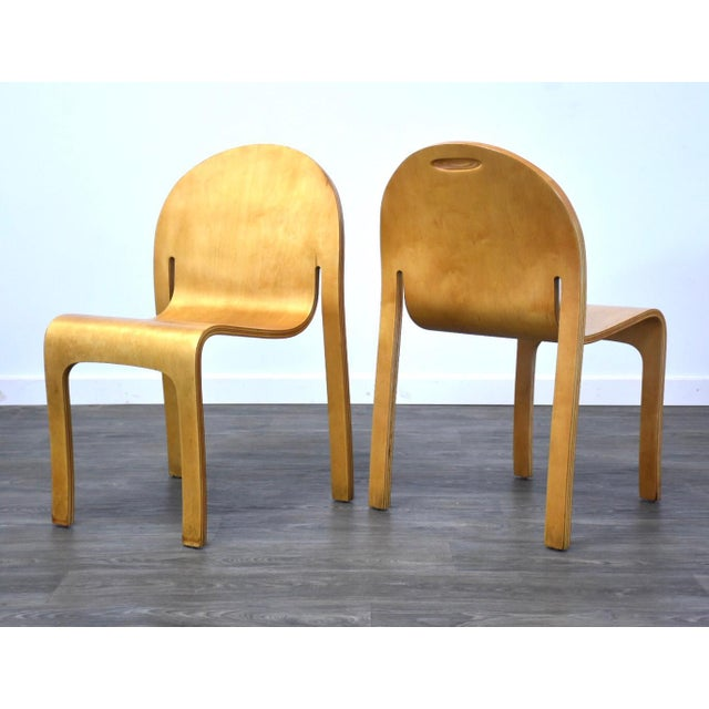Peter Danko Peter Danko Free Form Dining Chair For Sale - Image 4 of 10