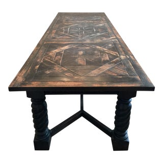 beae461fe95c 1970s French Gothic Dining Table For Sale