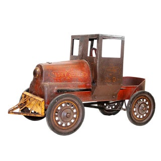 Antique Garton Casey Jones Cannonball Express Pedal Car For Sale