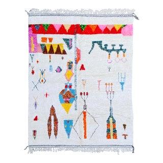 Moroccan Vintage Rug Azilal For Sale