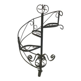 Wrought Iron Stair Stand