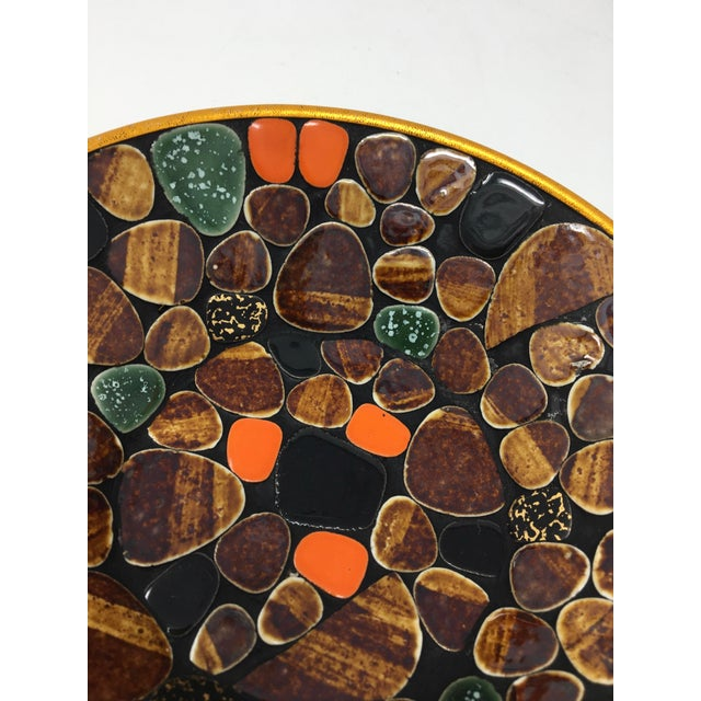 Mid Century Modern Multi-Colored Mosaic Tile Bowl For Sale - Image 4 of 6