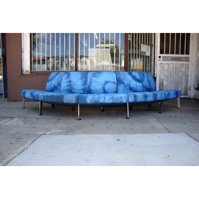 Modern Semi Round Sofa For Sale - Image 13 of 13