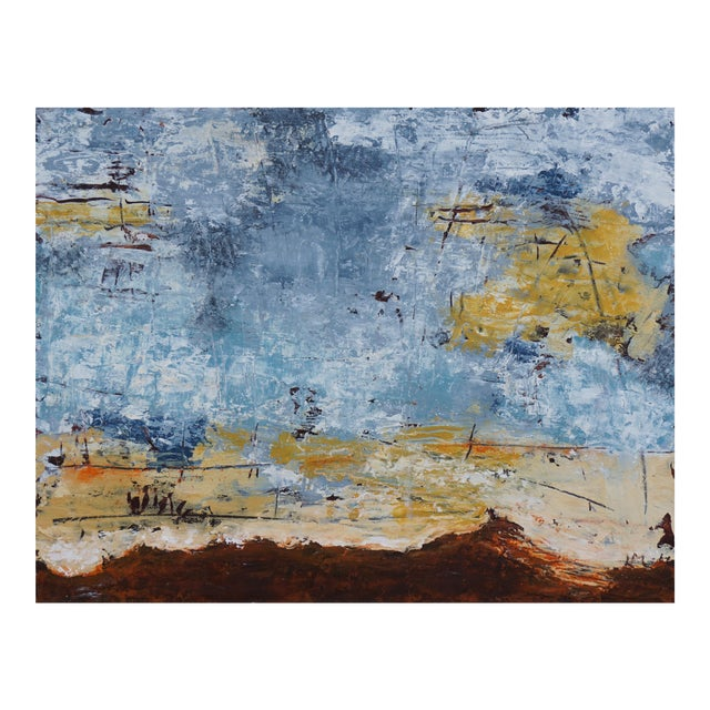 """Laurie MacMillan """"Out of This World"""" Abstract Painting For Sale"""