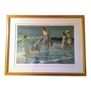 """""""By the Sea"""" Serigraph"""