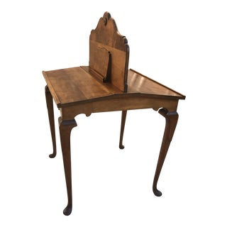 1900s Traditional Two-Sided Writing Desk For Sale