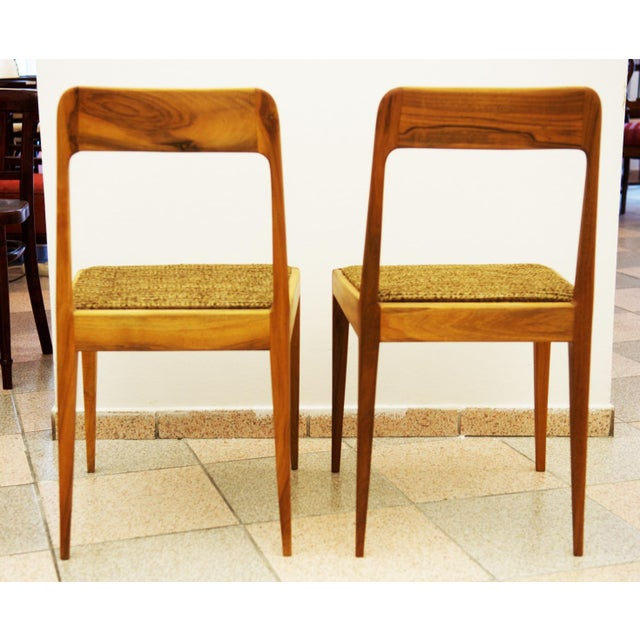 Austrian A 7 chairs by Carl Auböck for Auböck - A Pair For Sale - Image 6 of 8
