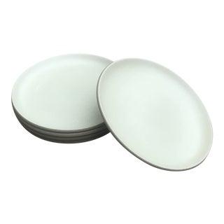 Heath Ceramics Coupe Salad Plates in Sage Set of 5 For Sale