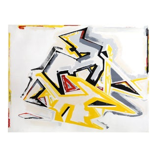 Great Performers, Abstract Screenprint by Ashbaugh