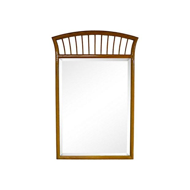 Oak Frame Mirror For Sale