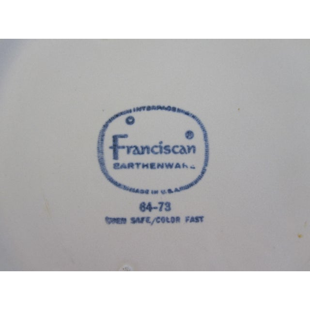 Franciscan Earthenware Salad Dishes - Set of 7 For Sale In Los Angeles - Image 6 of 6