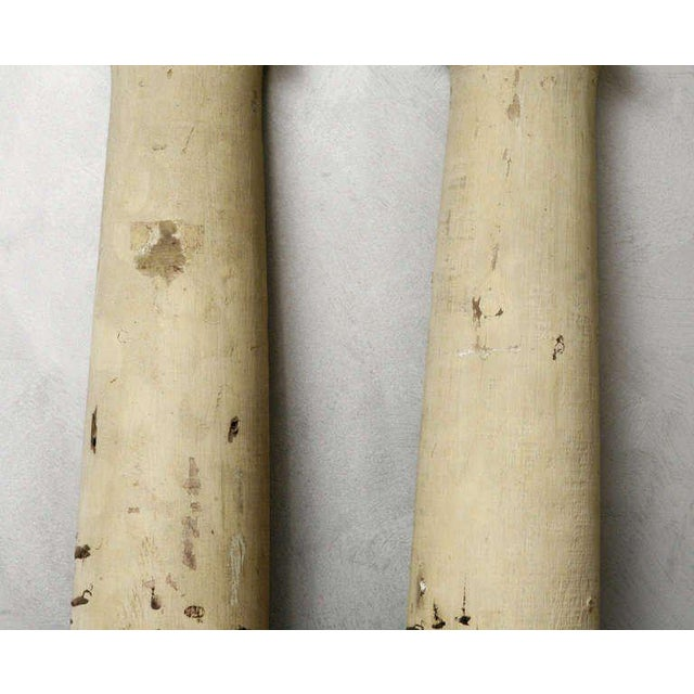 Late 19th Century Pr. American Facade Half Columns For Sale - Image 5 of 10