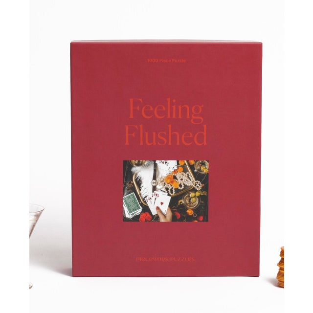Not Yet Made - Made To Order Feeling Flushed 1000 Piece Jigsaw Puzzle For Sale - Image 5 of 5
