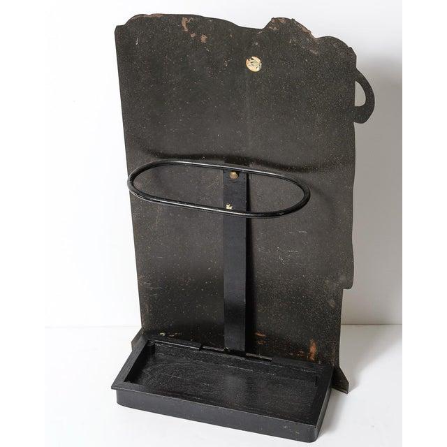 Metal Vintage Piero Fornasetti (1913-1988) Tole Umbrella Stand For Sale - Image 7 of 11