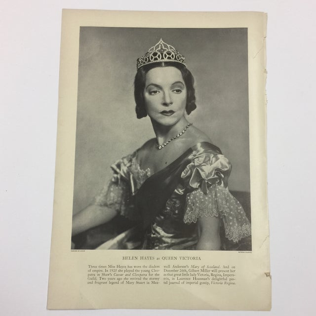 1935 Leslie Howard Stage Magazine For Sale - Image 4 of 4