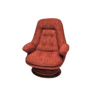 Mid Century Modern R Huber Swivel Chair For Sale