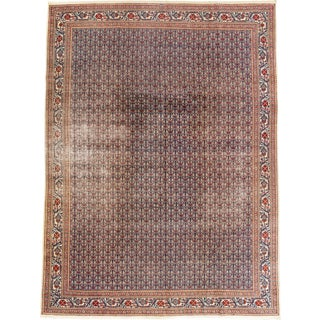 """Vintage Persian Rug, 9'05"""" X 13'00"""" For Sale"""