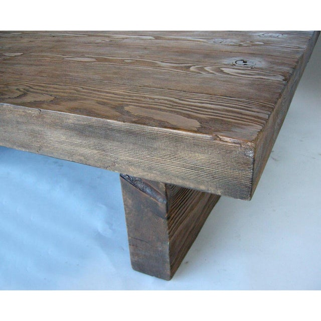 Modern Primitive Coffee Table For Sale In Los Angeles - Image 6 of 7