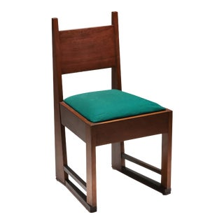 1920s Hague School Chair In The Style Of Hendrik Wouda For Sale