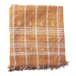 Hand Woven Woll Bed Cover