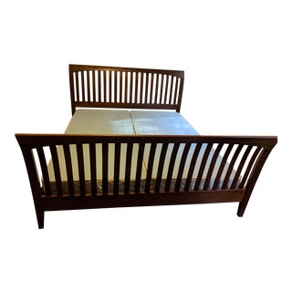 Ethan Allen American Impressions Solid Cherry California King Bed For Sale