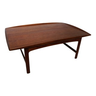 "1960s Mid-Century Modern Folke Ohlsson for Dux ""Frisco"" Teak Coffee Table For Sale"