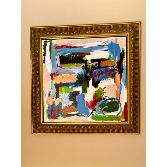 Abstract Ebony Boyd Abstract Painting For Sale - Image 3 of 5