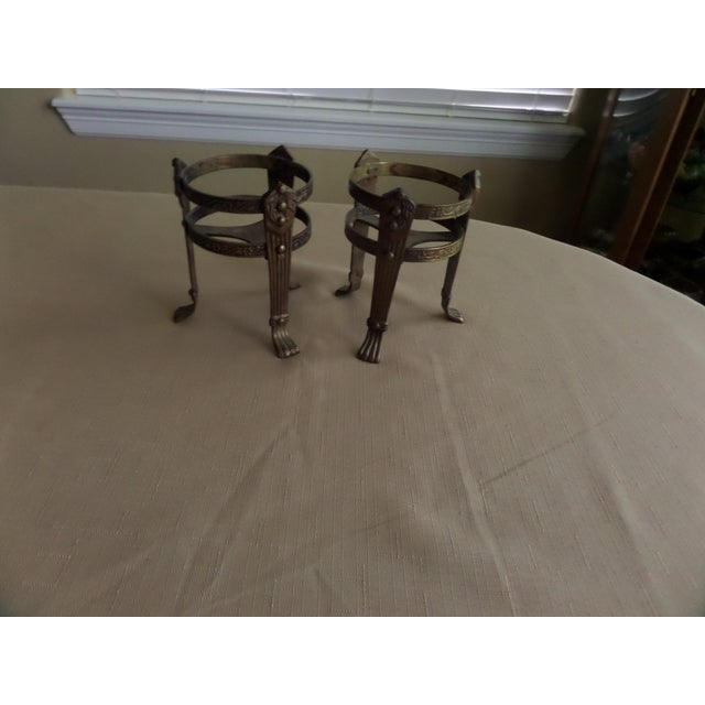 Vintage Solid Brass Candle Holders - A Pair - Image 5 of 8