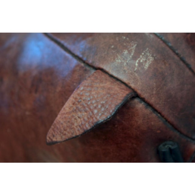 Brown Abercrombie and Fitch Dimitri Omersa Leather Bulldog For Sale - Image 8 of 12