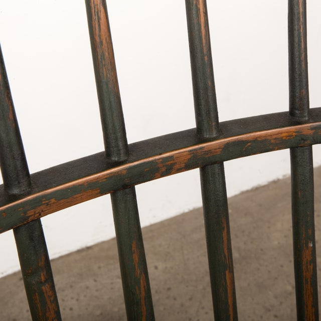 Wood 18th Century Antique Windsor Chair With Extended Arms For Sale - Image 7 of 13