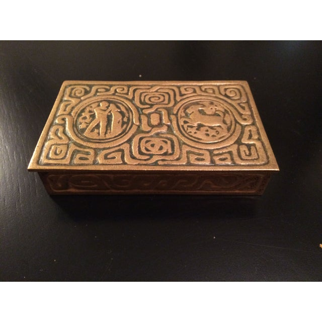 Tiffany Studios Zodiac Stamp Box - Image 6 of 6