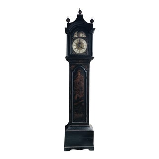 19th Century Chinoiserie Tall Case Clock For Sale