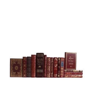 Merlot World Classics Decorative Books - Set of 15