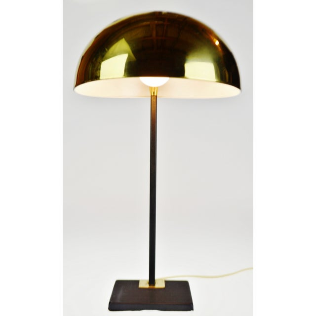 Mid Century Brass Dome Shade Desk Lamp Most of our items are listed for USPS calculated shipping. If USPS shipping is too...