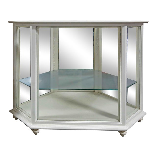 Display Case - Wood & Glass For Sale