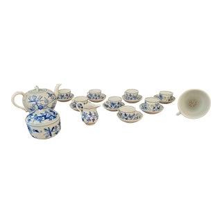 19th Century Meissen Tea Set- 20 Pieces For Sale