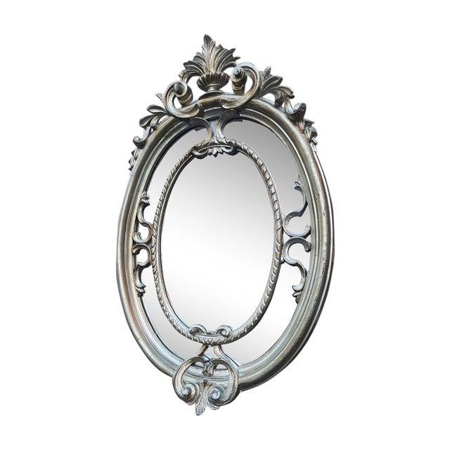 Silver Victorian Mirror - Image 1 of 4