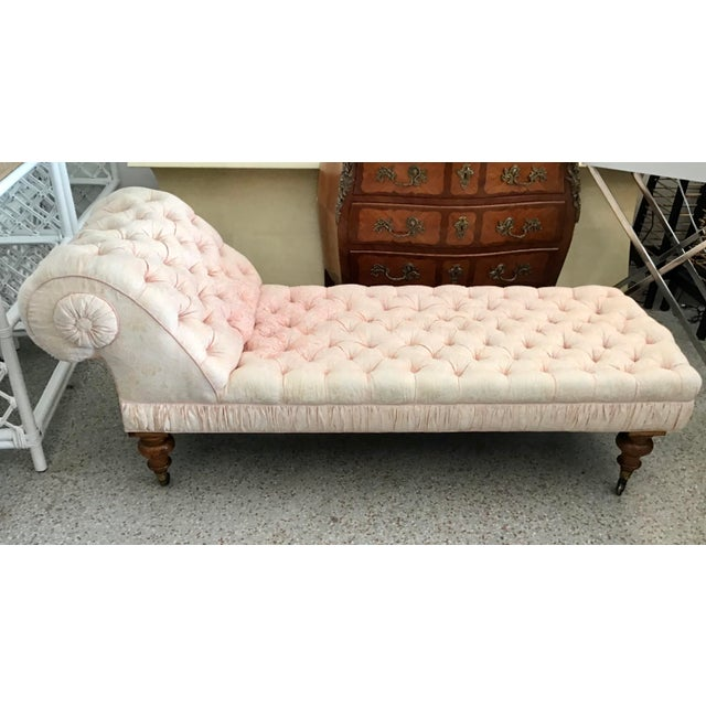 Mid 19th Century Fortuny French Chaise For Sale - Image 13 of 13
