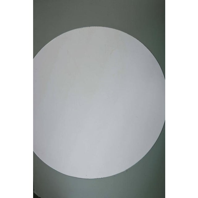 1980s Rectangular and Round Modernist Mirrors with 3d Circles - A Pair For Sale - Image 5 of 6