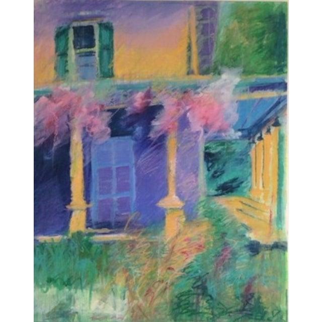 Barbara Borck-Hart Oil Pastel - Untitled #1 For Sale