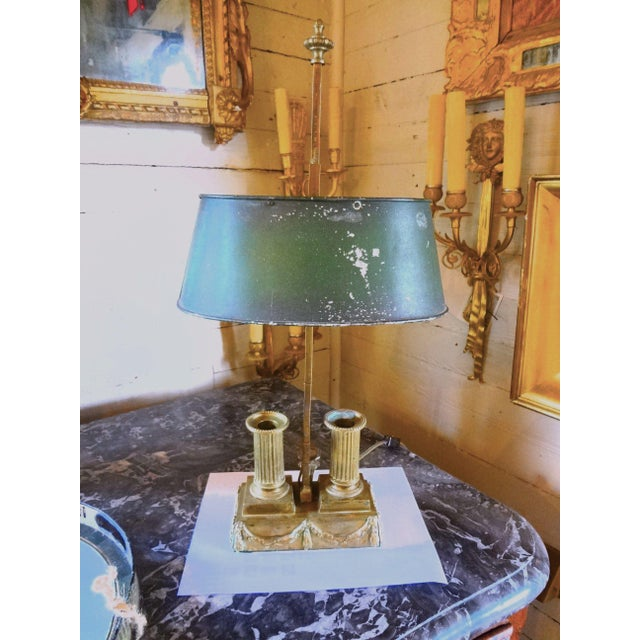 19th Century French Bouillotte Lamp For Sale - Image 11 of 11