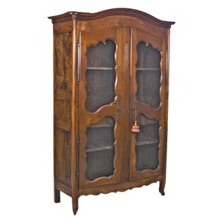 18th Century Louis XVI French Cherry Biblioteque For Sale