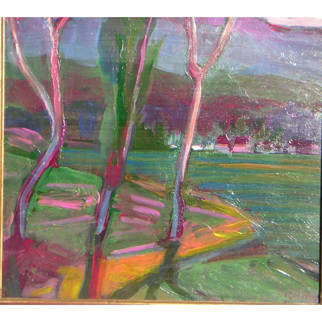 Guzman California Modernist Painting - Image 2 of 4