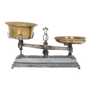 Early 20th Century Antique French Scale For Sale