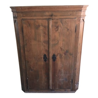 Late 18th Century Austrian Primitive Armoire For Sale