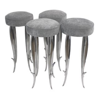 Vintage Philippe Starck Royalton Bar Stools - Set of 4 For Sale