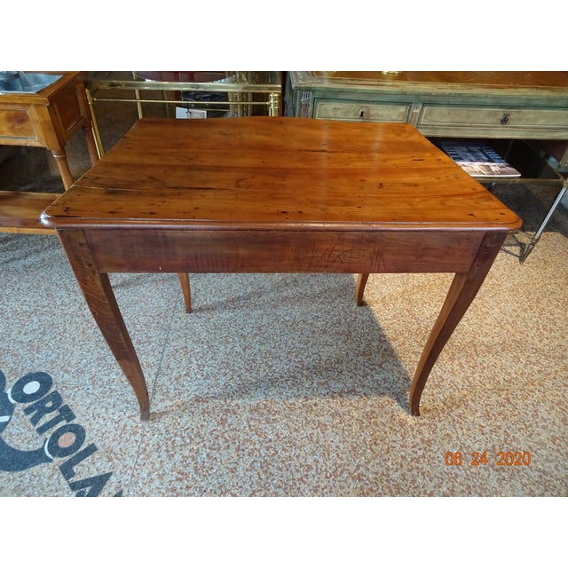 Chestnut 18th Century French Walnut Table For Sale - Image 8 of 13